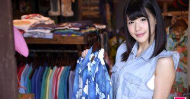 สาวสวยเจ้าของร้านขายเสื้อ กับลูกค้าหนุ่มหื่น โชว์หี