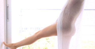 ผ้าบางขาวกับสาวนมโต สวยสุดๆไปเลย รูปหนังเอ็กซ์
